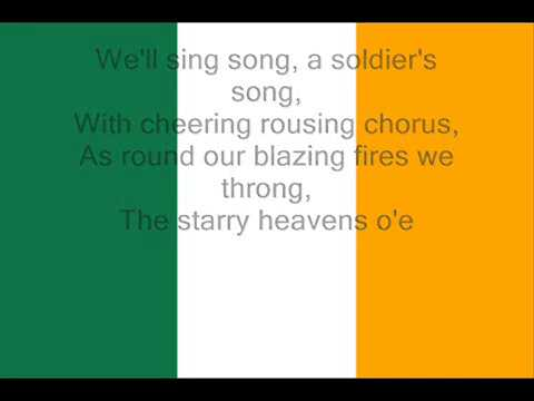 IRISH ANTHEM Hymne nationale de l'Irlande