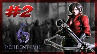 [+18] Resident Evil 6 ★2 Ada Wong Capitulo 2 11 Mil