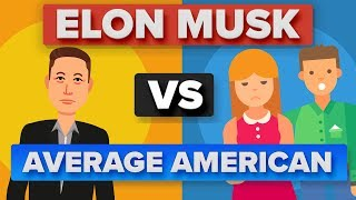 Elon Musk vs Average American: How Do They Compare?