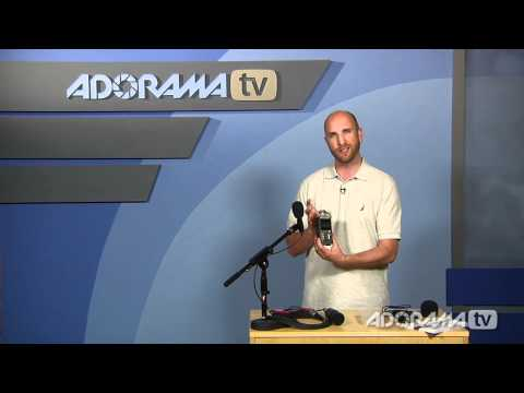 Zoom H4N Handy Recorder: Product Reviews: Adorama Photography TV