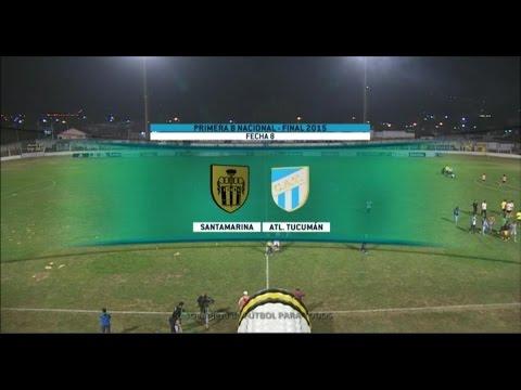 Fútbol en vivo. Santamarina - Atl. Tucumán. Fecha 8. Torneo de Primera B Nacional 2015. FPT.