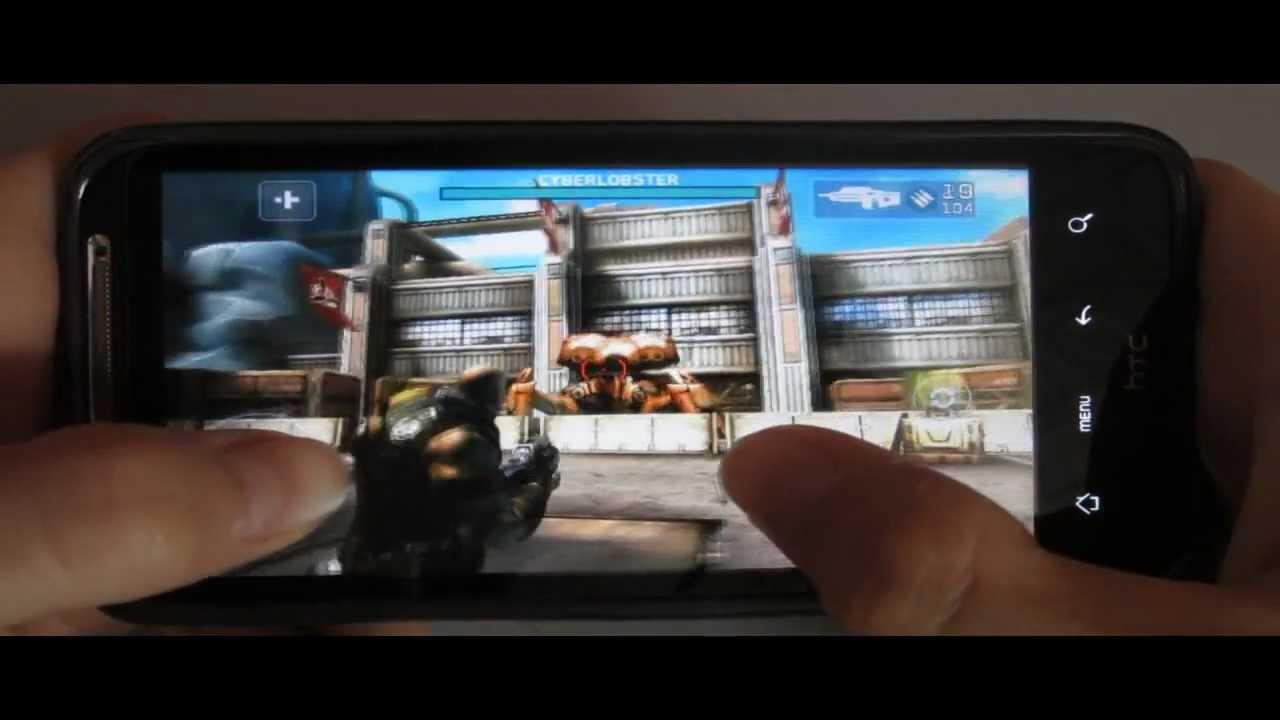 обзор игры на андроид SHADOWGUN android