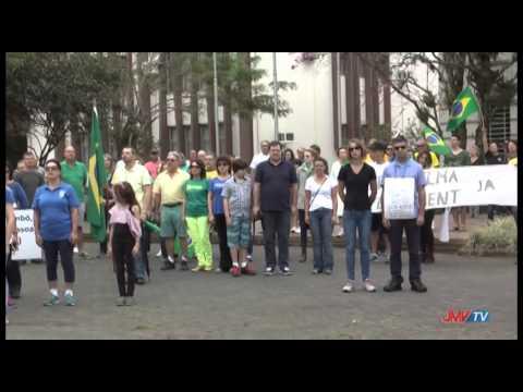 Manifesta��o contra a corrup��o