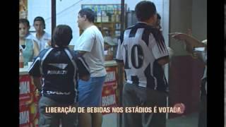 Deputados liberam venda de bebidas alc�olicas em est�dios de Minas