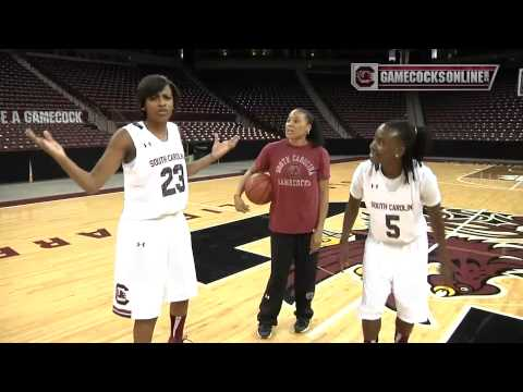 South Carolina Women's Basketball Team Photo Shoot & Media Day