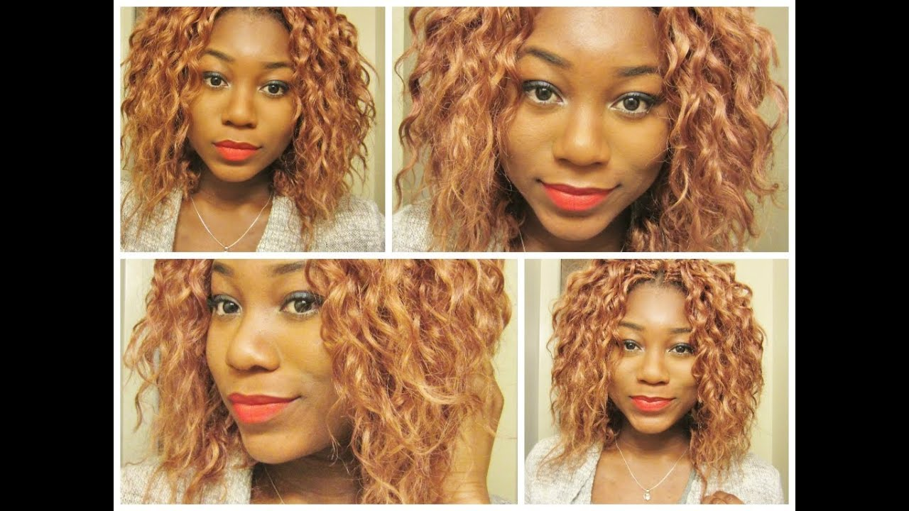 Crochet Curly Hair Youtube : Crochet braids with Curly Synthetic hair - YouTube