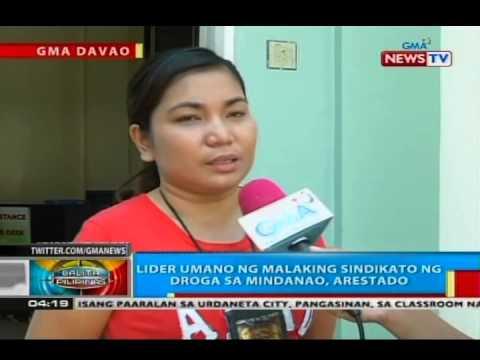 BP: Lider umano ng malaking sindikato ng droga sa Mindanao, arestado sa Davao City