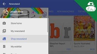 Google Play Store 5.0 Material Design Update Quick Look