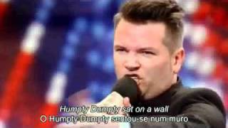Britain's Got Talent - Edward Reid (LEGENDADO PT)