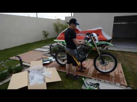 armado motocross kawasaki klx 450 r