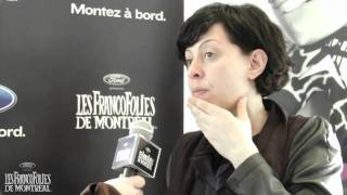 Béatrice Bonifassi – FrancoFolies 2011 – Spectacle à venir (In French)