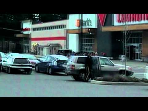 Police Take down  Vancouver Island British Columbia Canada