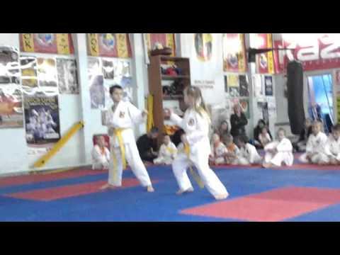 Экзамен по каратэ 13 октября 2013 года в клубе Тигренок.ч.3