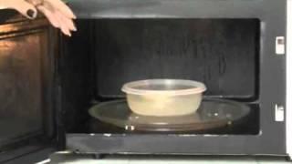 Limpiar microondas facil y rápido