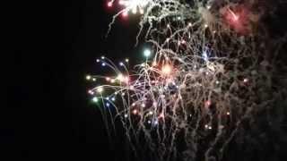 Castillo Fuegos Artificiales Feria De Julio 2014