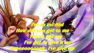 The Pointer Sisters I'm So Excited [Lyrics] HD
