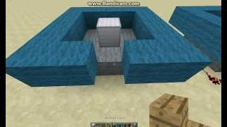 Minecraft How To Make A Trampoline [Working Easy]