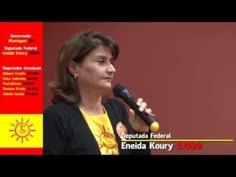 [Lançamento das candidaturas do Psol Santos com a presença de Maringoni, candidato da governador ]