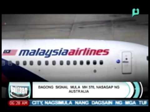Balitaan: Bagong 'signal' mula sa MH370, nasagap ng Australia [04/10/14]