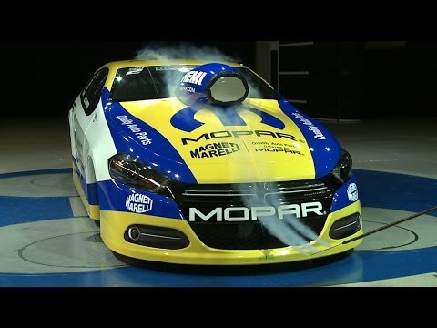 Mopar's Dodge Dart NHRA Pro Stock in Wind Tunnel