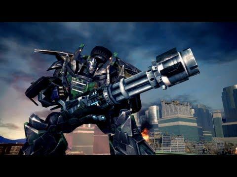 MMO Transformers Universe — трейлер геймплея