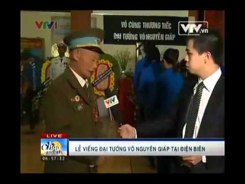 Lễ viếng Đại tướng Võ Nguyên Giáp tại Điện Biên