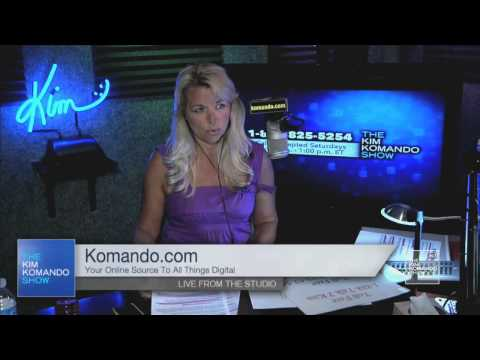 Behind-the-scenes sneak peek of The Kim Komando Show