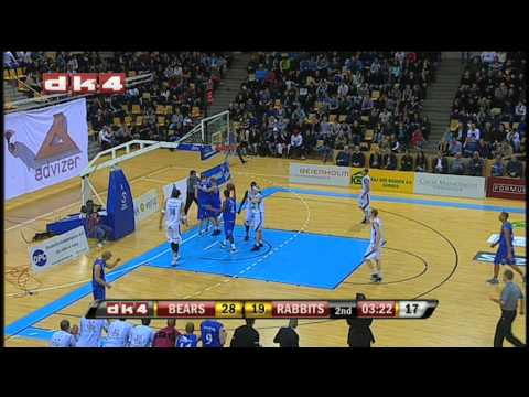 DK4 Highlights: Bakken Bears -  Svendborg Rabbits, 13. jan. 2011
