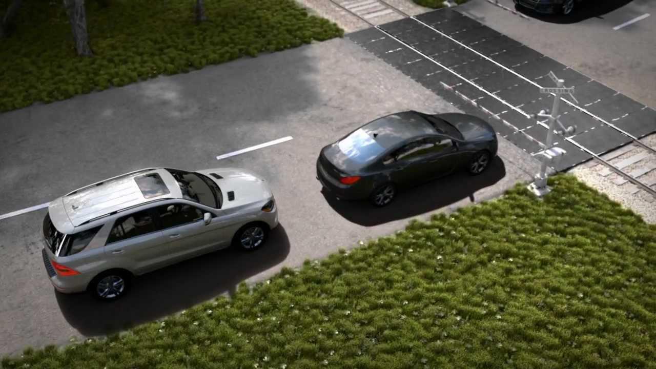 Mercedes Benz Collision Avoidance System