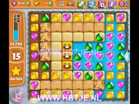 Diamond Digger Saga level 170