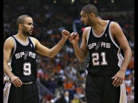 Tony Parker of San Antonio Spurs says Tim Duncan didn't speak to him his rookie year NBA PLay Off