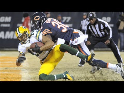 Green Bay Packers vs Chicago Bears ‪|‬ Aaron Rodgers Randall Cobb Touchdown