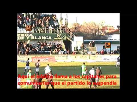 INCIDENTES: Ferro (Gral. Pico) vs. San Martín (Fsa)