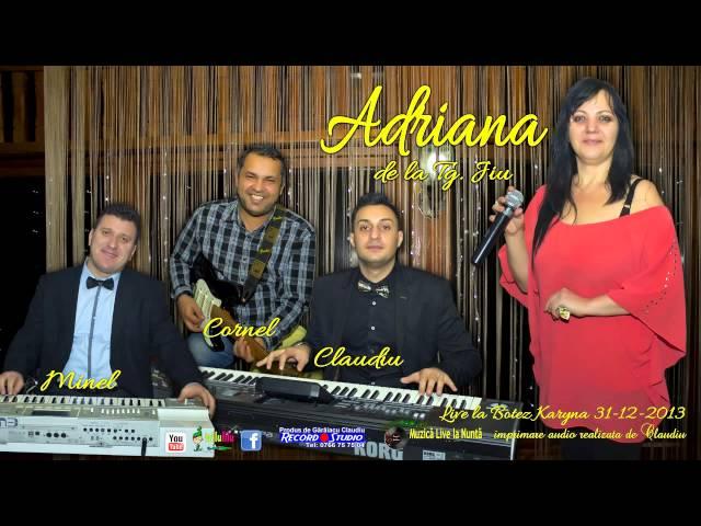 Adriana de la Tg.Jiu- Trenul vietii mele, Jumatatea vietii mele LIVE  Audio: Claudiu / Record Studio