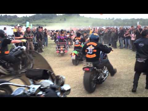 Super Rally ballenstedt 2012 Bandidos ride out