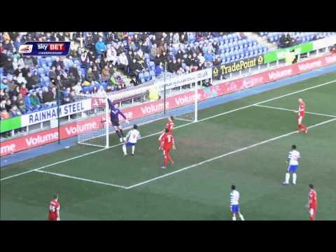 Reading vs Blackburn Rovers - Championship 2013/14