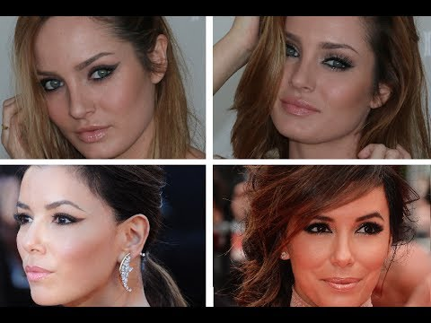 Eva Longoria's Cannes Film Festival Makeup Looks!