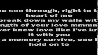 Whitney Houston-I Have Nothing (Lyrics)