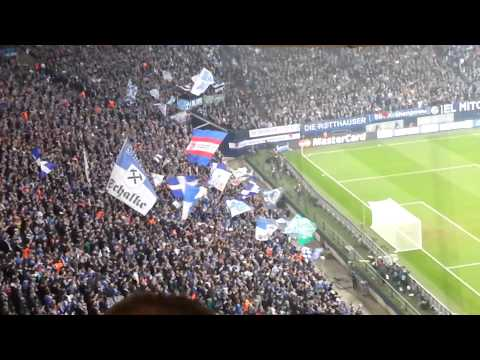 Schalke 04 1:6 Real Madrid - Stimmung vor dem Spiel -26.02.2014