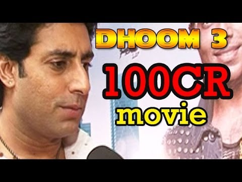 Dhoom 3 : Movies will cross 100Cr in 3 days - Abhishek Bachchan