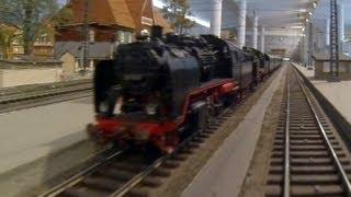 Führerstandsmitfahrt Spu 0 Modelleisenbahn im Verkehrsmuseum Dresden