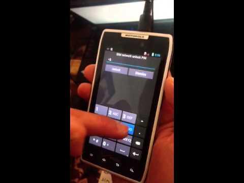 Motorola Xt912 Unlock Code