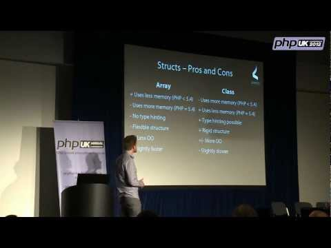 PHP UK Conference 2012 – Masterizing PHP Data Structure 102, by Patrick Allaert