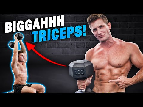 """GROW YOUR """"TRICEPS"""" FAST! 
