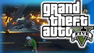GTA 5 Online Funny Moments 28 - Titan Spawn Glitch, Motorcycle Bowling, Nogla Rage!