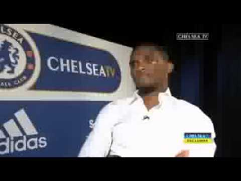 Samuel Eto'o first full interview for chelsea