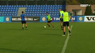 The team's training session