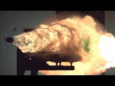 4/08/2014 -- US Navy tests electromagnetic Railgun -- to be deployed in 1-2 years
