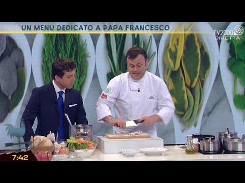 Un menu dedicato a Papa Francesco