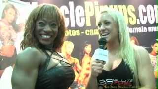 Female Bodybuilder Cassandra Floyd Talks With Fitness